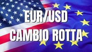Cambio rotta su EUR/USD: registrazione webinar del lunedi