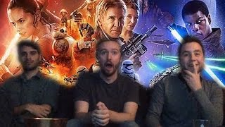 Star Wars: The Force Awakens - Live Trailer Reaction
