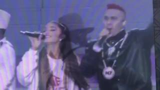 One love Manchester Ariana Grande and friends black eyed peas