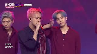 빅스 (VIXX) - 마이발렌타인 (My Valentine) 교차편집 (stage mix)