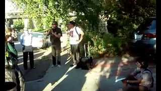 Black Panther Party historical walking tour of North Oakland 2