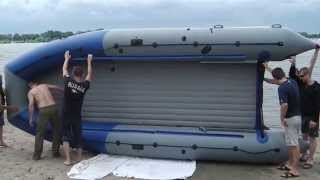 постелить на дно лодки пвх
