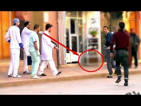 AIDS inffection Prank - صبيطار 36: الأطباء الإرهابيون |OClockTV