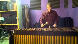 Bach g minor presto on marimba performed by Jamie Strowbridge