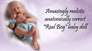 La Newborn Baby Doll by JC Toys
