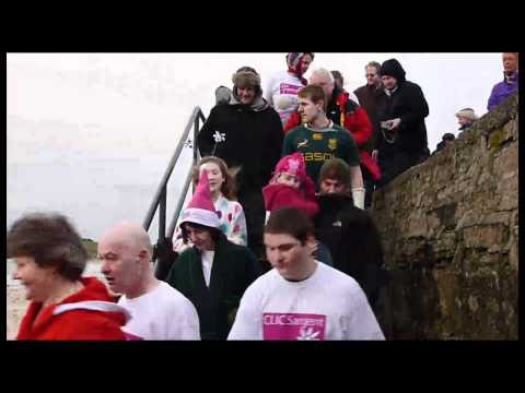 Scapa dip for CLIC Sargent Orkney islands