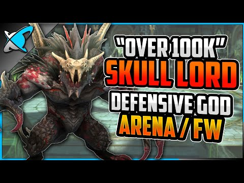 """""""OVER 100K POWER"""" Skull Lord Build, Guide & Masteries 