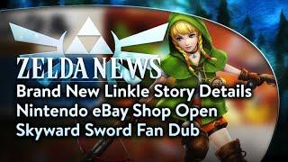 Zelda News - Linkle's Story, eBay Store, Skyward Sword Fan Dub