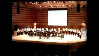Concert Band Performs Killing in the Name