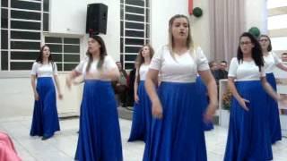 Coreografia do Hino - Santificação - Elaine Martins