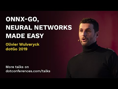 ONNX-Go, neural networks made easy