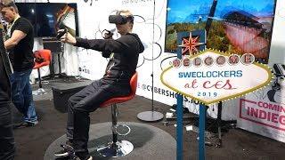 Cybershoes låter Kenneth klampa runt i Skyrim VR på CES 2019
