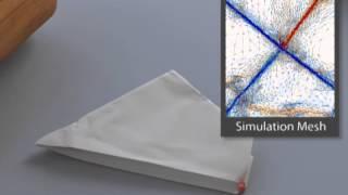 Folding and Crumpling Adaptive Sheets, SIGGRAPH 2013