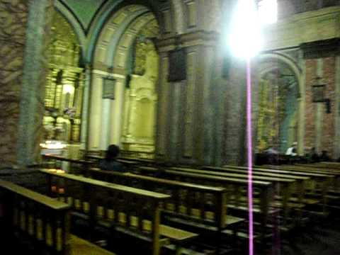 Inside a colonial church in Quito, Ecuador – Part 4