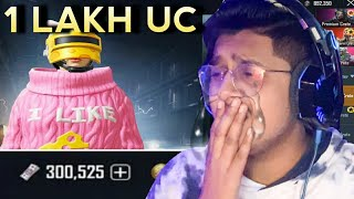 Biggest 1,00,000 UC Crate Opening in PUBG Mobile! | 50,000 UC Giveaway !