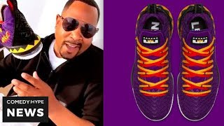 'Martin' Lawrence Shows Off His LeBron Shoe, Releasing On His Birthday - CH News