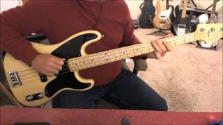 EMF - Unbelievable - Bass Cover