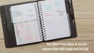 Jordan Cover + Dot Grid Planner