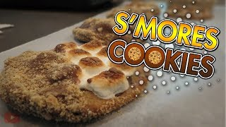 ⚡ HOW TO MAKE S'MORES COOKIES! (Fun Walkthrough Vlog)