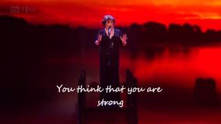 You'll See- Susan Boyle- BGT 2012 (lyrics)