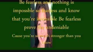 Daechelle Fearless Lyrics