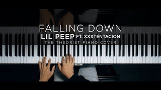 Lil Peep ft. XXXTENTACION - Falling Down | The Theorist Piano Cover