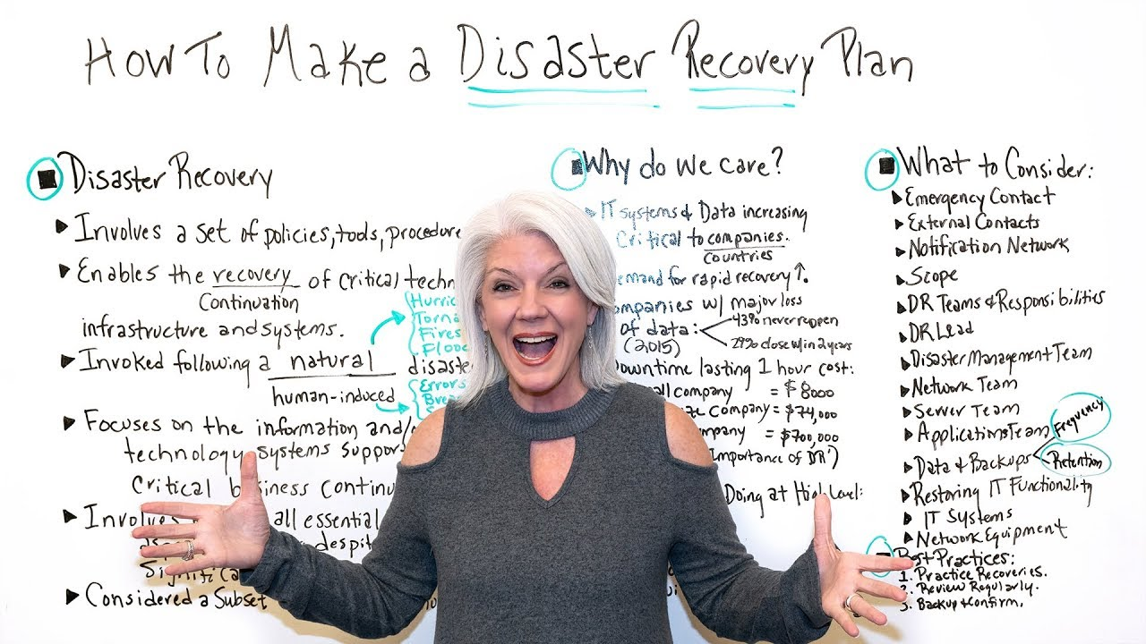 How to Make a Disaster Recovery Plan