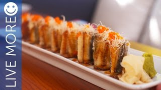 Golden Dragon Maki recipe - Toko Downtown Dubai