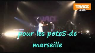 La Fouine & Soprano - Ca Fait Mal  LIVE avec les paroles
