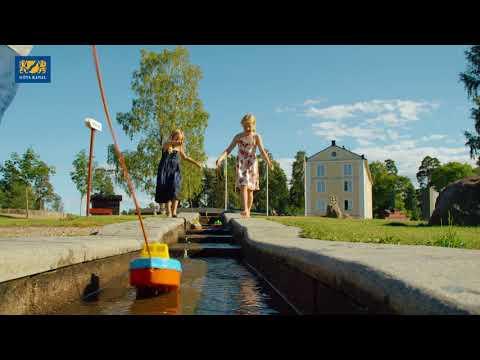 Ein Tag der Geschichte entlang des Göta Kanals