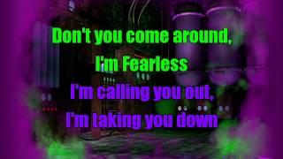 Olivia Holt - Fearless   Karaoke Sing-Along