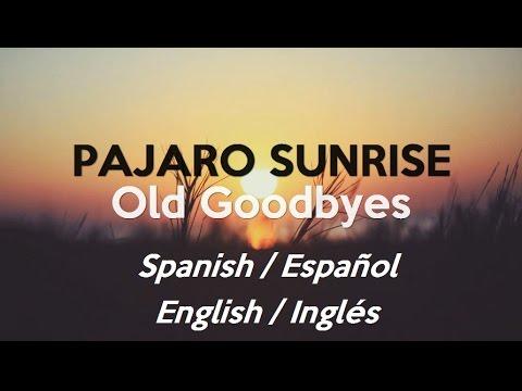 Old Goodbyes En Espanol de Pajaro Sunrise Letra y Video