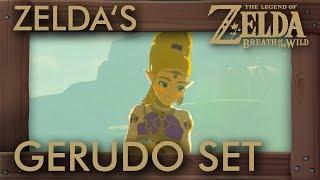 What If Zelda Buys Gerudo Clothes in Zelda Breath of the Wild?
