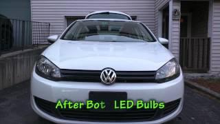 LED Bulb Upgrade 2013 VW Golf (MKVI, MK6)