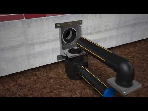 Pipelife zakkende Grondconstructie - De oplossing tegen leidingbreuk bij grondzakking