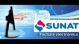 ¿Como consultar una factura electronica emitida SUNAT?