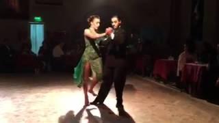 Juan Malizia y Manuela Rossi en el marco de AGOSTANGO 2018 2/2 (13-Ago-18)