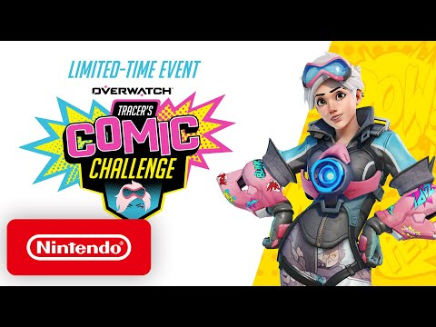 Overwatch - Tracer's Comic Challenge - Nintendo Switch