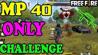 MP40 Only Challenge|| Rank match tips and tricks|| Run Gaming Tamil