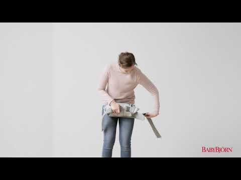 BABYBJÖRN - How to roll up Baby Carrier One – option 1