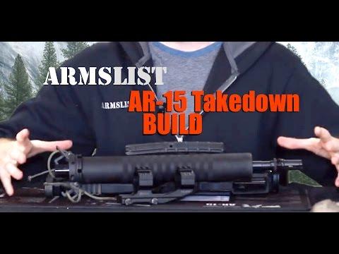 AR-15 Takedown Build