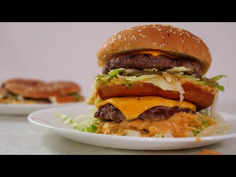 How To Make A Homemade Big Mac : The Big Mac Remix