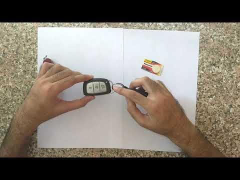 Quick Hyundai Smart Key battery change process.