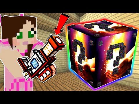 Minecraft: THE MOST OVERPOWERED LUCKY BLOCK MOD IN MINECRAFT!!! Mod Showcase