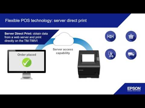 Introducing the TM-T88VI POS printer from Epson