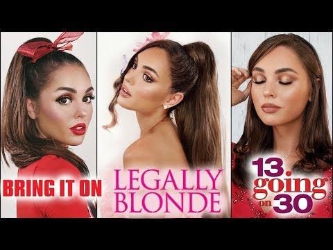Ariana Grande Thank U, Next Makeup Hair & Lookbook! 13 going on 30, legally blonde + more