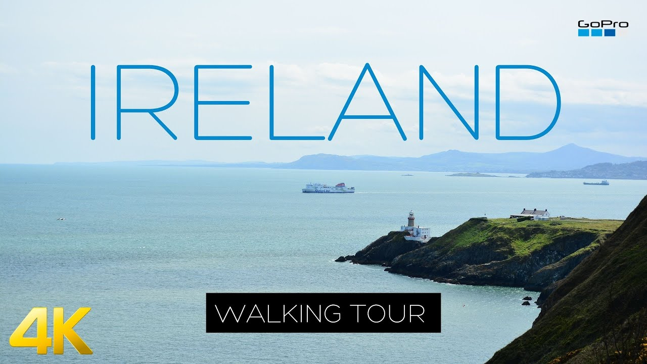Top 10 Places in Ireland 2021 – Howth Walking Tour – Dublin 4k