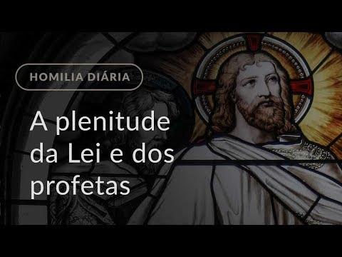 A plenitude da Lei e dos profetas (Homilia Diária.1184: Quarta-feira da 10.ª Semana do Tempo Comum)
