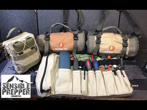 New Organizational Pouches for EDC Gear, Tools & Survival