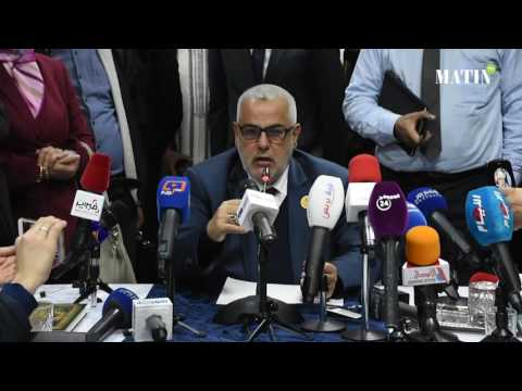 Point de presse de Abdelilah Benkirane